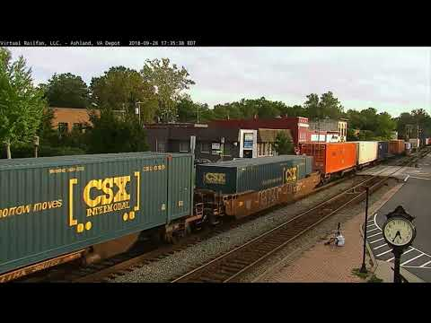6 Trains through Ashland in 66 Minutes, with a Pretty Big Surprise