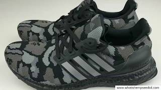 new style b6987 c4a52 Bape X Adidas Ultra Boost Camo - Bape X Adidas Ultra Boost Camo Green Unboxing  Review