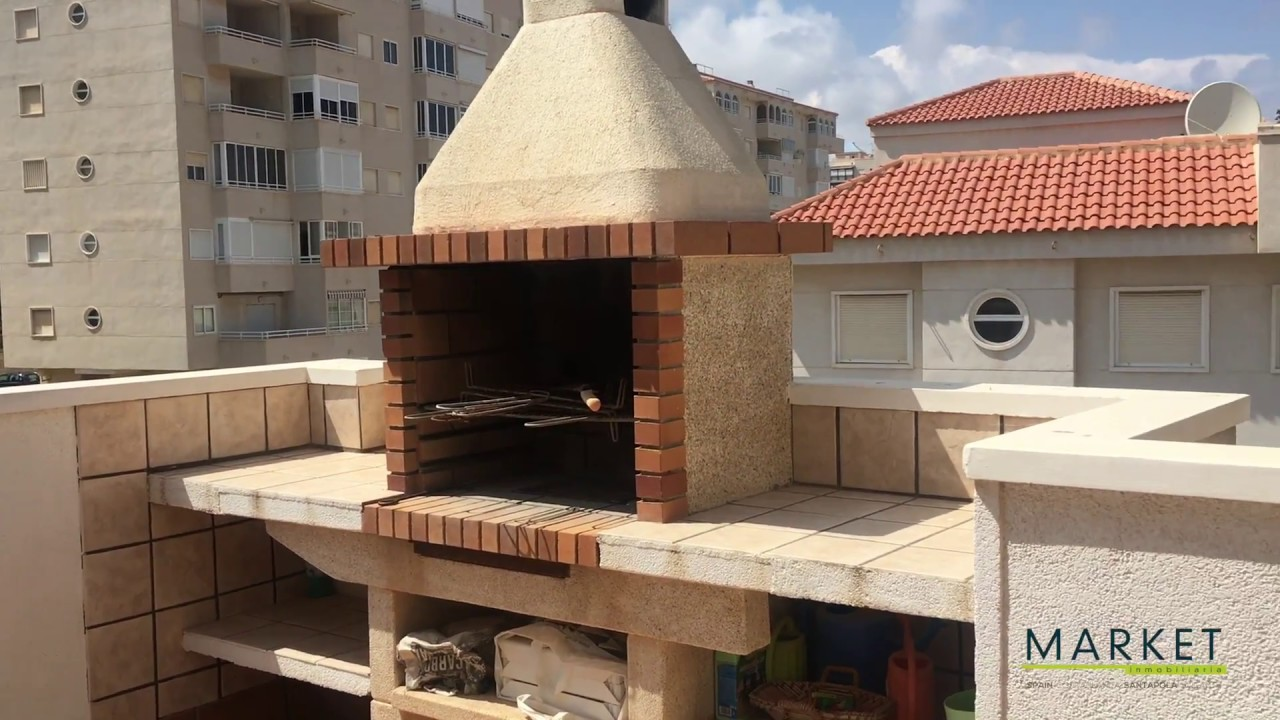 Ref 847 Fabuloso ático Con Piscina Y Gran Terraza En Segunda Línea De Playa En Arenales Del Sol