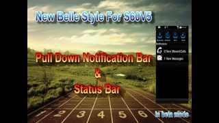 [Updated] Belle Top bar for S60V5 with steps/download links