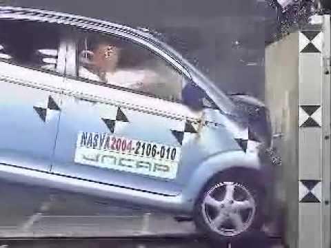 Subaru R2 R1 crash test