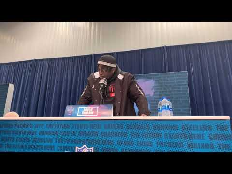 Javon Kinlaw DT South Carolina 2020 NFL Combine Interview