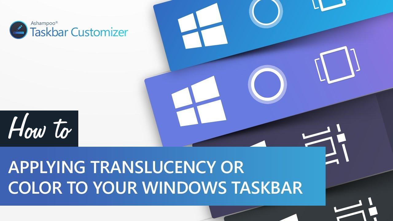 Resultado de imagen para Ashampoo Taskbar Customizer