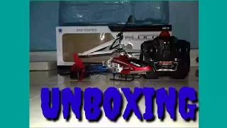 Unboxing my new Helicopter Velocity New Supermini UNbreakable Body | Overview of My New Helicopter|