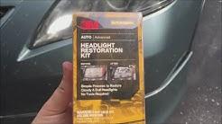 3M headlight restoration kit review
