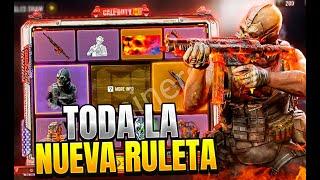 TODA EL NUEVO SORTEO MELTING POINT | RULETA MCE COD MOBILE