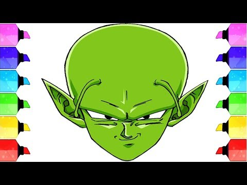 How to Draw Piccolo - Drawing PICCOLO with just 2 Pencils!|Drawing Piccolo