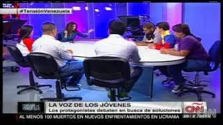 Jóvenes debaten sobre Venezuela en CNN   Parte 1