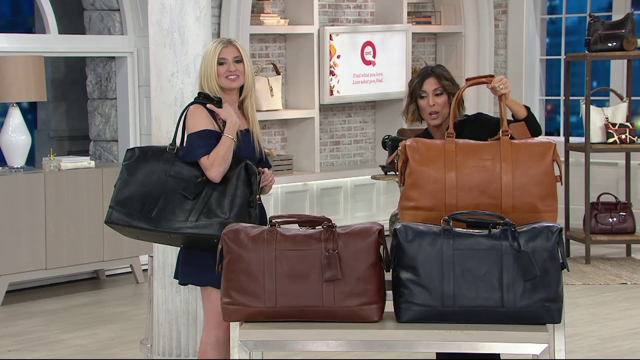 Dooney Bourke Floine Medium Duffle Bag On Qvc