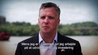 Danske undertekster, Meet the new U.S. Ambassador to Denmark Rufus Gifford