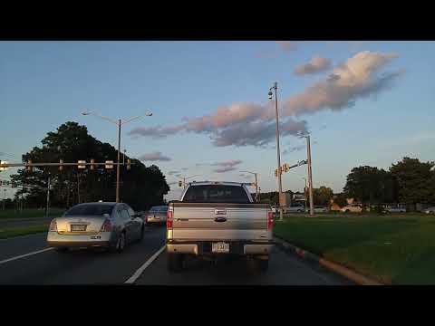 Driving by Chesapeake,Virginia
