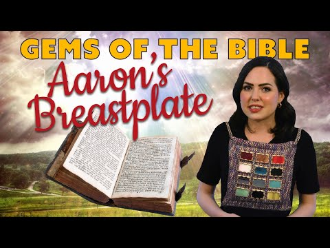 Gemstones Of The Bible: Aaron's Breastplate