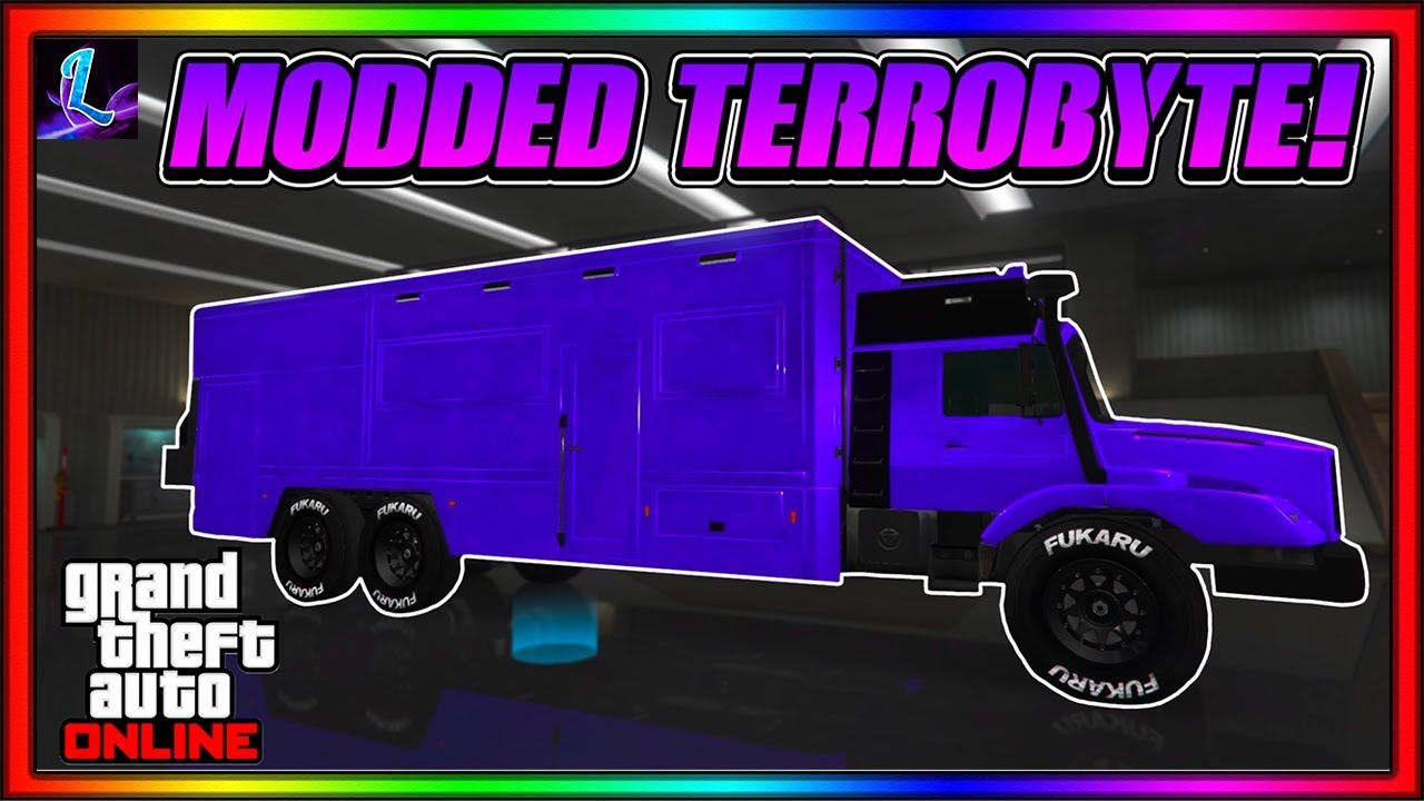 HOW TO MAKE A MODDED TERRORBYTE IN GTA 5 ONLINE! (TERRORBYTE TO TERRORBYTE MERGE) After Patch 1.53!