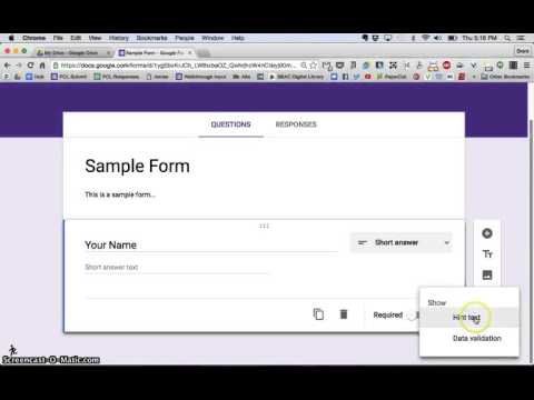 New Google Forms Tutorial - Creating