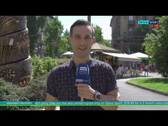 Adriano on Optus Sport (06/07/21)
