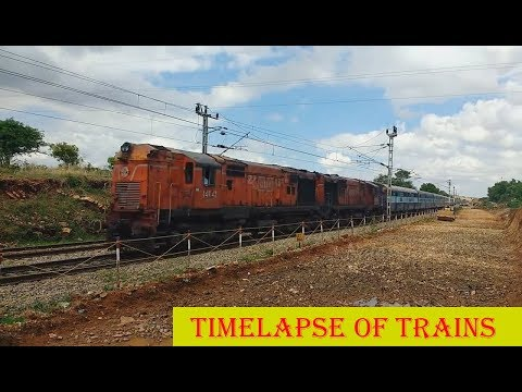 10km Walk, Timelapse of Trains & Amazing Clouds - REUPLOAD