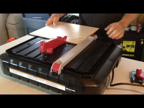 How to Cut Ceramic Tile