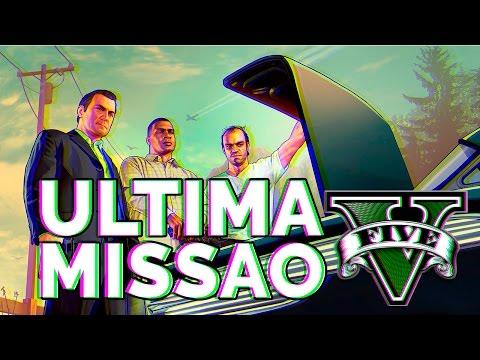 GTA V ULTIMA MISSÃO - ARRISCAR TUDO.