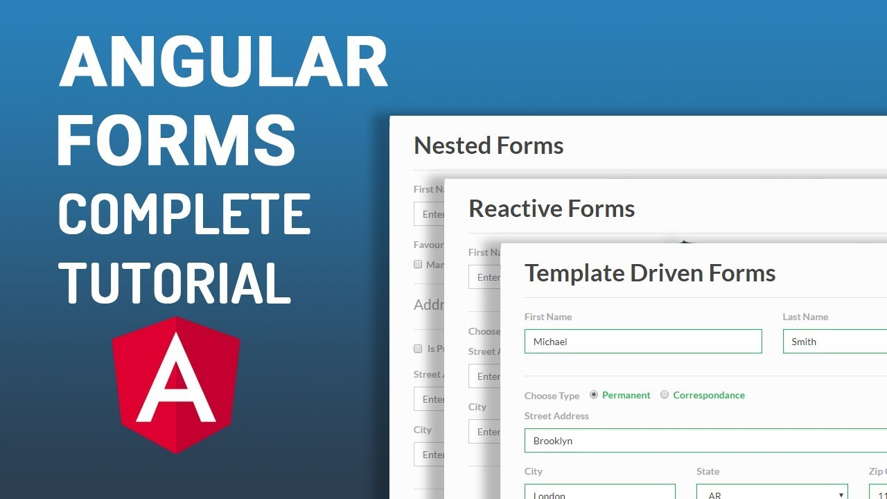 Angular Reactive Forms - Handling Multiple Check Boxes | Part-7