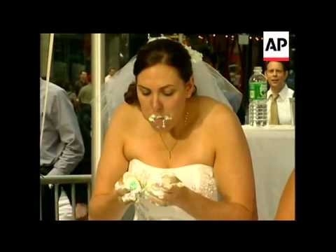 brides-to-be-were-contestants-in-a-wedding-cake-eating-contest