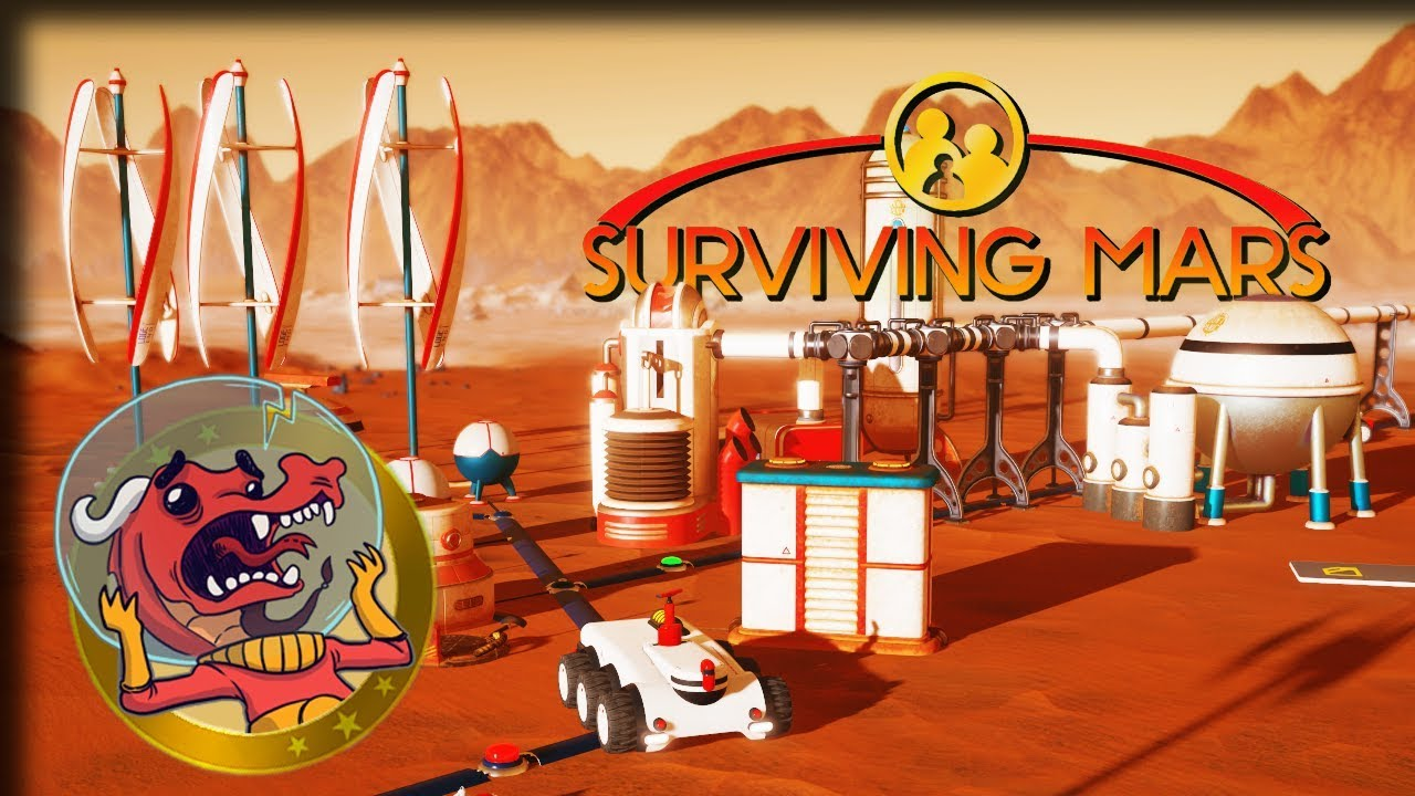 Red Planet Survival Ain't Easy in 'Surviving Mars' Game