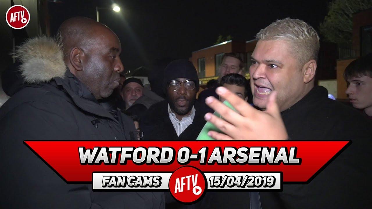 watford 0 1 arsenal troy deeney s cojones is in emery s back pocket heavy d football addict football addict