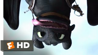 How to Train Your Dragon 2 - Flying With Toothless Scene | Fandango Family