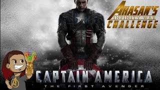CAPTAIN AMERICA: THE FIRST AVENGER REVIEW LIVE STREAM (Movie 5 of 18) #InfinityWarChallenge