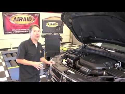 K/&N 77-1563KP Performance Cold Air Intake Kit 2011-2015 Dodge Durango 5.7L V8