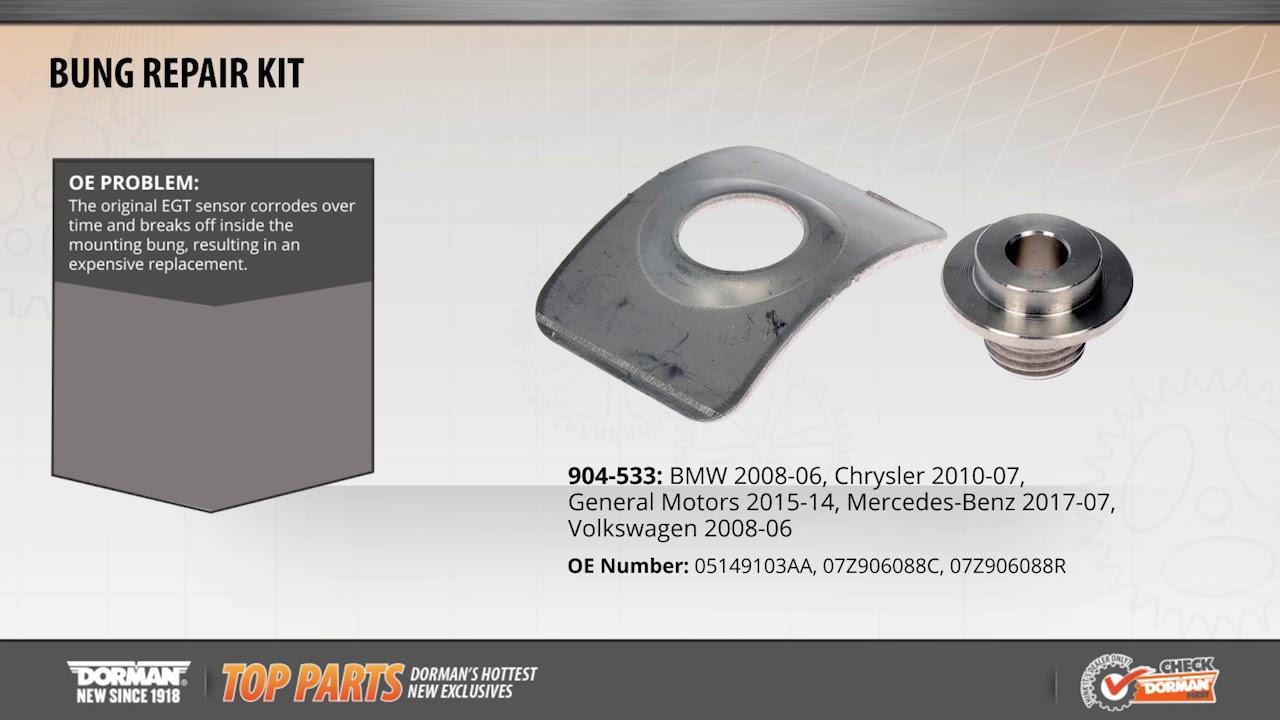 Exhaust Gas Temperature (EGT) Sensor Bung Repair Kit | 904