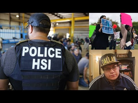 ICE Raids Business in Allen Texas, 280 Immigrants Arrested, this is the biggest raid in 10 years!
