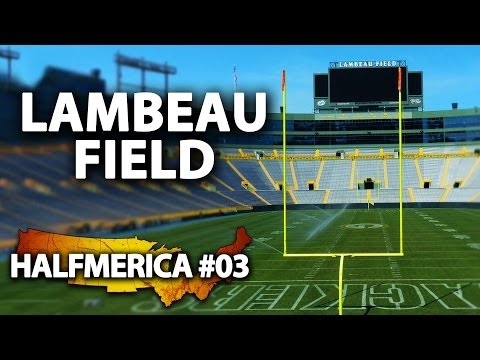 Touring Lambeau Field, Home Of The Green Bay Packers -- #Halfmerica