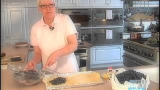 Rustic French Style Blueberry Galette