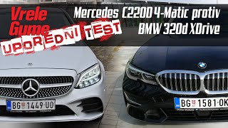 UPOREDNI TEST: BMW 320d XDrive protiv Mercedes C220D 4Matic
