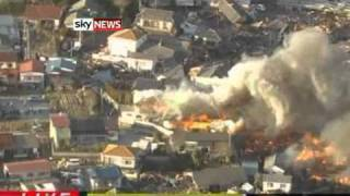 Video  Japan Earthquake  Tokyo Tsunami Fears After 8 9 Magnitude Quake Rocks Buildings In Capital   World News   Sky News