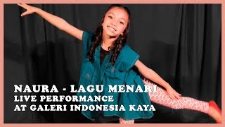 [3.28 MB] Naura - Lagu Menari (Live Performance at Galeri Indonesia Karya)