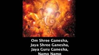 """Om Shree Ganesha"" Kirtan Chant Along"