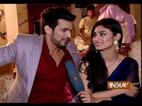 Naagin: Mouni Roy and Arjun Bijlani on Their Fight and Love