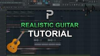 HOW TO MAKE: A Realistic Guitar (FREE PLUGIN!) - FL Studio tutorial