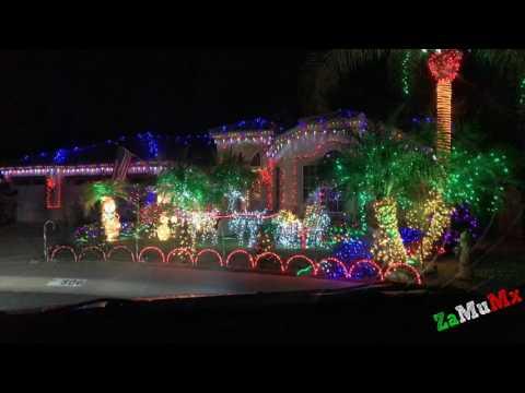 The Islands Christmas Lights 2016 (Chandler Arizona)