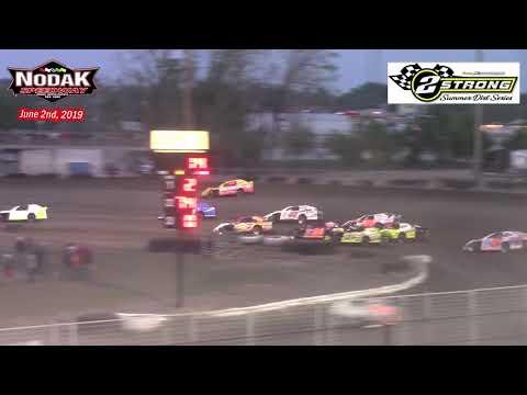 Nodak Speedway IMCA Sport Mod A-Main (2 Strong Summer Dirt Series) (6/2/19)