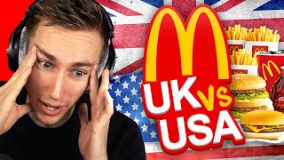 UK vs US McDonalds