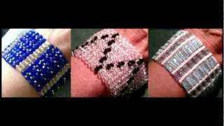 Beading4perfectionists : Herringbone stitch basics & with a twist ;-) beading tutorial