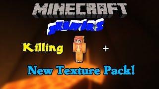 KILLING A HELPER + New Texture Pack (Skywars #34)