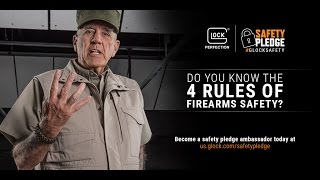 Four Rules of Firearms Safety
