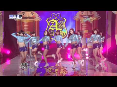 100326 After School  Lets Do It + Bang Comeback Stage