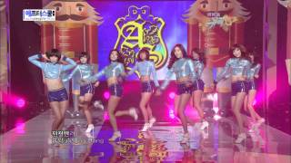 100326 After School - Let's Do It + Bang (Comeback Stage)