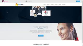 FIRE BIRD - Multipurpose Responsive HTML Landing Page        Andy Dex