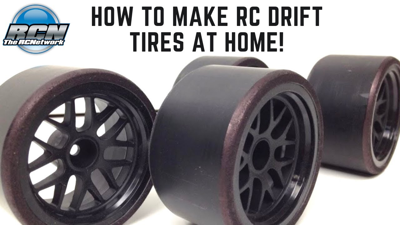 How To Make Drift Tires For Rc The Rcnetwork Youtube