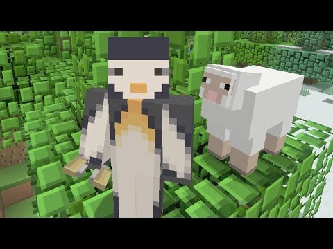 Minecraft PS4 - 20 Block Challenge - A Shearful Day [5]